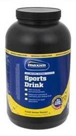 MAXIM Sports Drink Fresh Lemon Flavour 2 kg