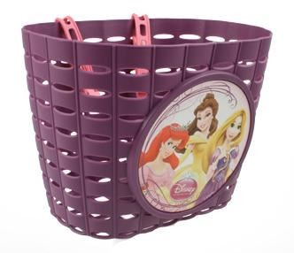 WIDEK Princess Dreams Fietsmand pvc paars