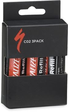 SPECIALIZED 3 pack 25g CO2 Canister CO2-patronen
