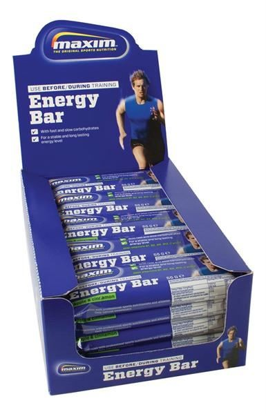 MAXIM Energy Bar Apple & Cinnamon