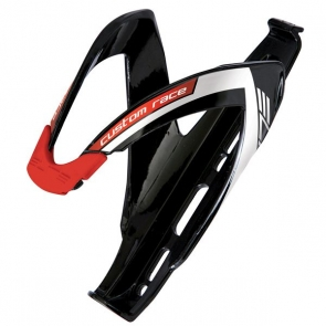 ELITE Custom Race Glossy Black, Red Logo