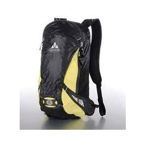 VAUDE Trail Light 12/10 Fietsrugzak black/lemon