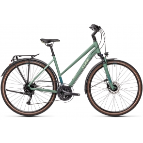 CUBE Touring Exc Hybride Fiets Dames