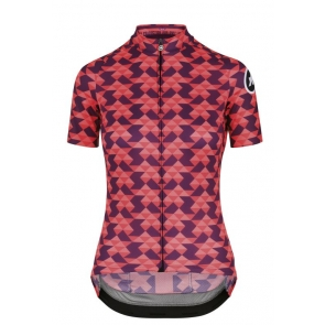 ASSOS Diamond Crazy Women Short Sleeve Dames Fietsshirt Korte mouw
