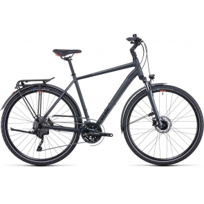 CUBE Touring Exc Hybridefiets Heren