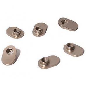 SPECIALIZED S-Works 6/Sub6 Replacement TI / Alloy T-Nuts Fietsschoen Onderdelen