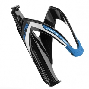 ELITE Custom Race Glossy Black, Blue Logo