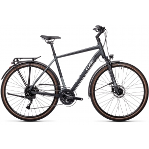 CUBE Touring Exc Hybride Fiets Heren