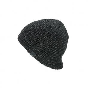 SEALSKINZ Waterproof Cold Weather Reflective Beanie Muts