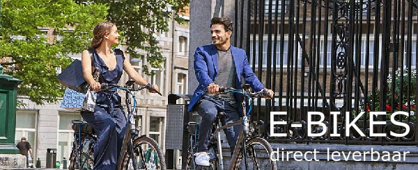 E-Bikes direct leverbaar