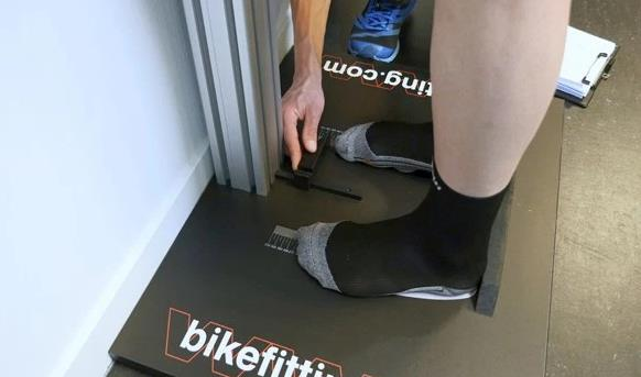 Bikefitting fietsmeting voeten